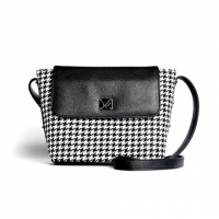 yoda modern mini flap bag - lightning checkered