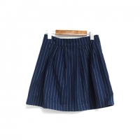 stripe skirt (green)