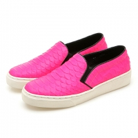 Lazy Leather (Neon Pink)