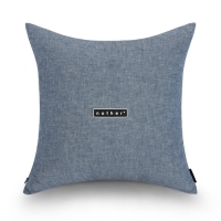 nother Washed Chambray Cushion (Deep Blue)