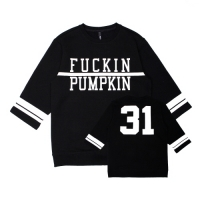[벨로윈]BELLOWEEN FOOTBALL SWEATSHIRT (BLACK)