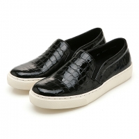Lazy Leather (Enamel Black)
