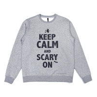 [벨로윈]BELLOWEEN KEEP CALM SWEATSHIRT (GRAY)