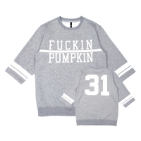 [벨로윈]BELLOWEEN FOOTBALL SWEATSHIRT (GRAY)